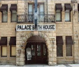 Palace Hotel Entrance Eureka Springs